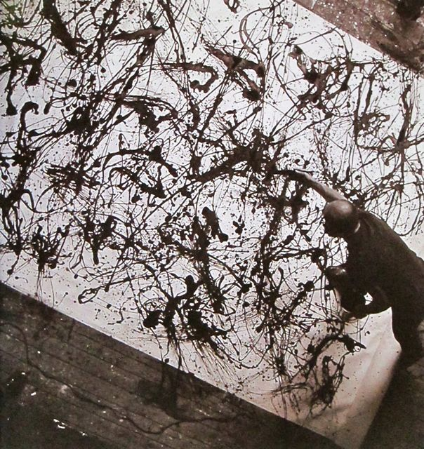 Action Jackson Pollock  The Springs, Long Island, New York  1950  Photo: Rudy Burckhardt