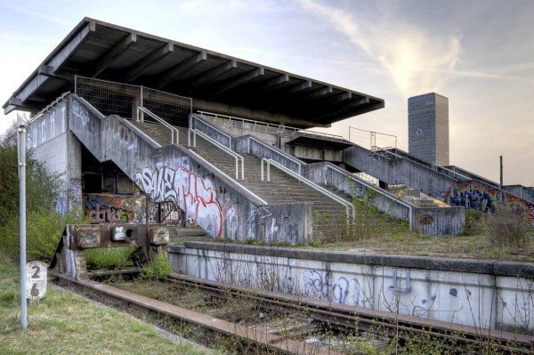 1972 Munich Olympic Stadium Train Station
