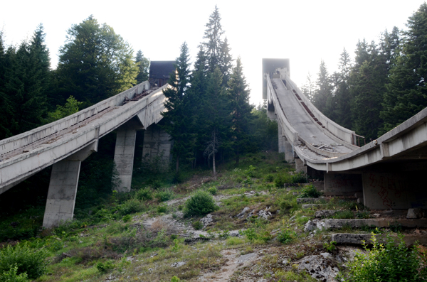 1984 Sarajevo, Bosnia and Herzegovina Ski Jump
