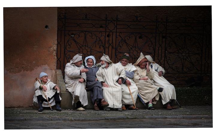 Merit, Travel Portraits: Old Men with Djellaba