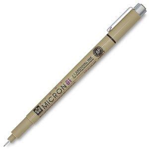 Sakura 30062 Pigma Micron Pen Set Assorted Sizes 6/Pkg
