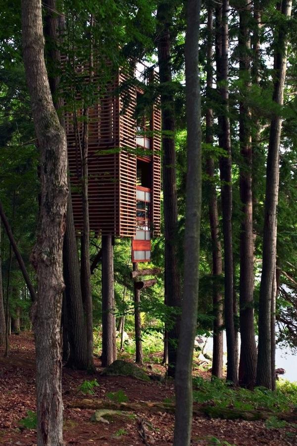 4tree house by Lukasz Kos – Lake Muskoka, Ontario, Canada