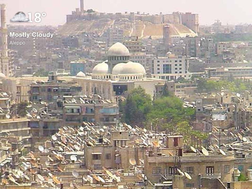 Aleppo, Syria by SKYE user Avda Bave Roj