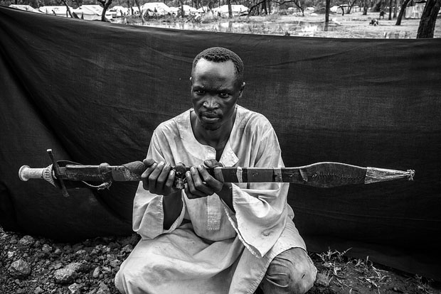 Howard, Yusuf Batil refugee camp, Maban County, South Sudan.