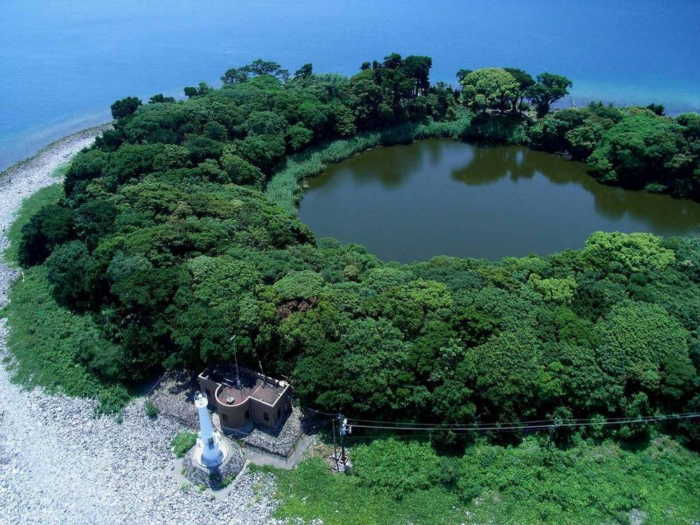 KAP Kite Aerial Photography shintu shrine japan.jpg