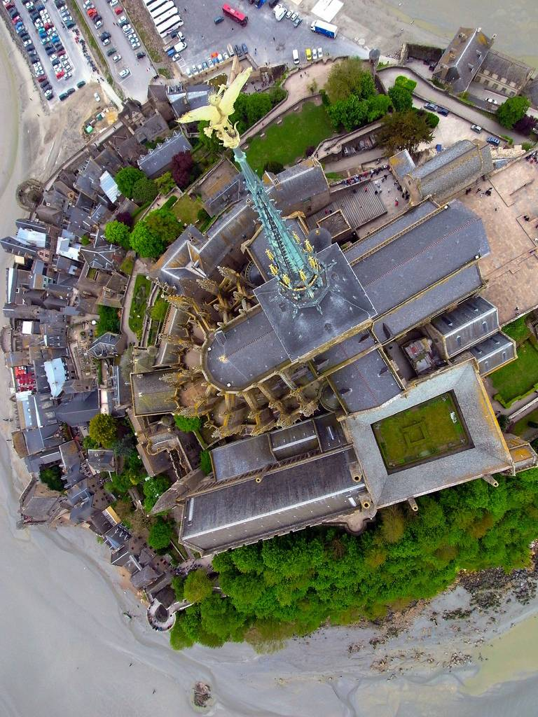 KAP Kite Aerial Photography Mont St Michel.jpg