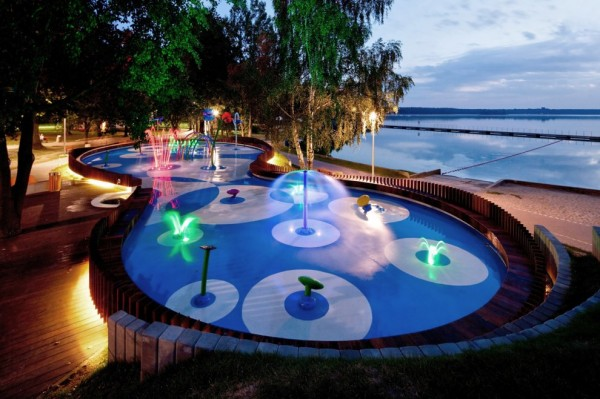 The Water Playground   Designed by RS+ Robert Skitek   Tychy, Poland   Learn more about this project in the  Architizer database .