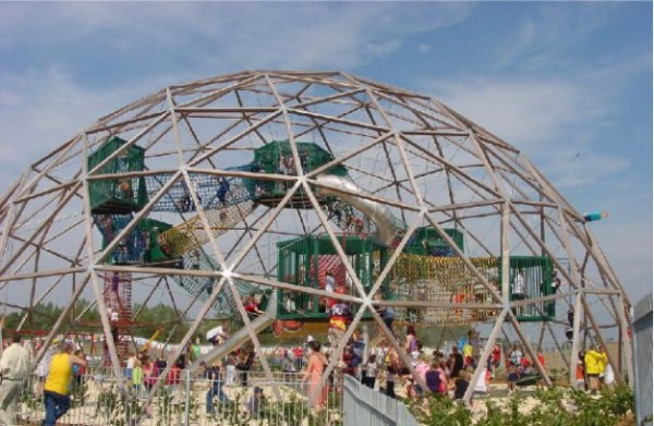 PlayDome Bristol   Designed by Arc2 architecten   Bristol, UK   Learn more about this project in the  Architizer database .