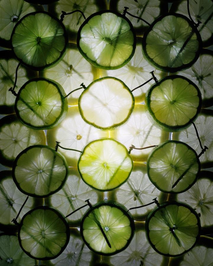 عکس6:اخبار علم فناوری آموزش در علمها-تولید برق از میوه و خلق آثار هنری