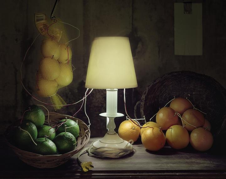 عکس10:اخبار علم فناوری آموزش در علمها-تولید برق از میوه و خلق آثار هنری