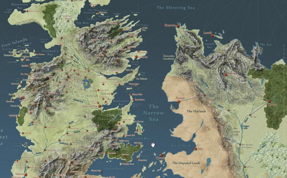 Game of Thrones: Interactive Story Map of Westeros — 5 ... Game Of Thrones Map Google on google map skins, google map arrow, google map dallas, google map scandal, google map rome, google map atlantis, google map nashville, google map fargo, google map zoo, google map united states,