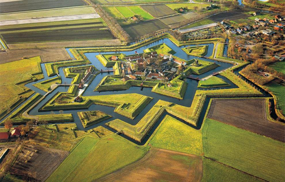 Fort Bourtange in the Netherlands