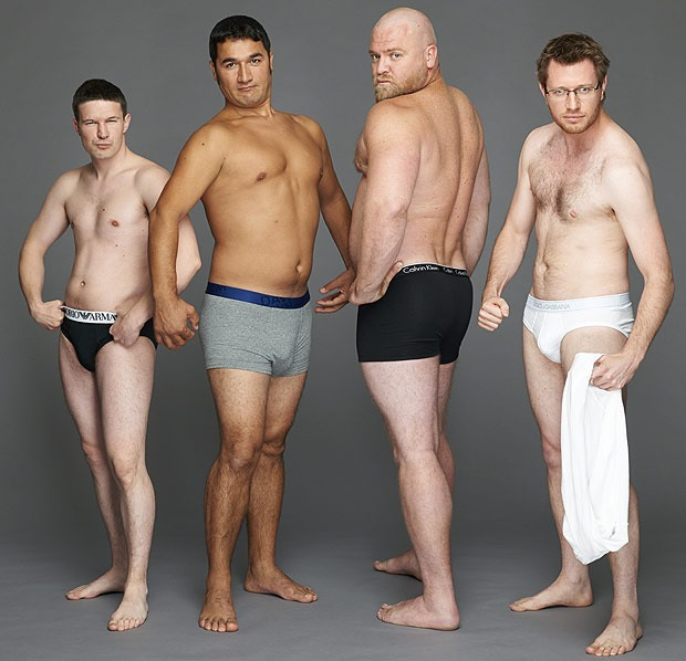 фото простых голых людей
