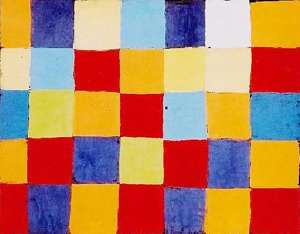 """Paul Klee """"Farbtafel"""""""