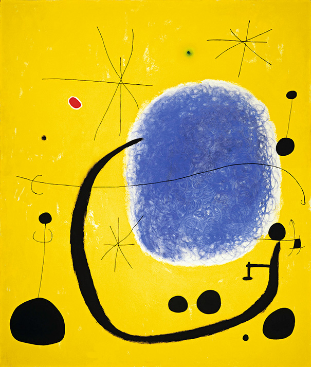 "Joan Miró ""The Gold of the Azure"""