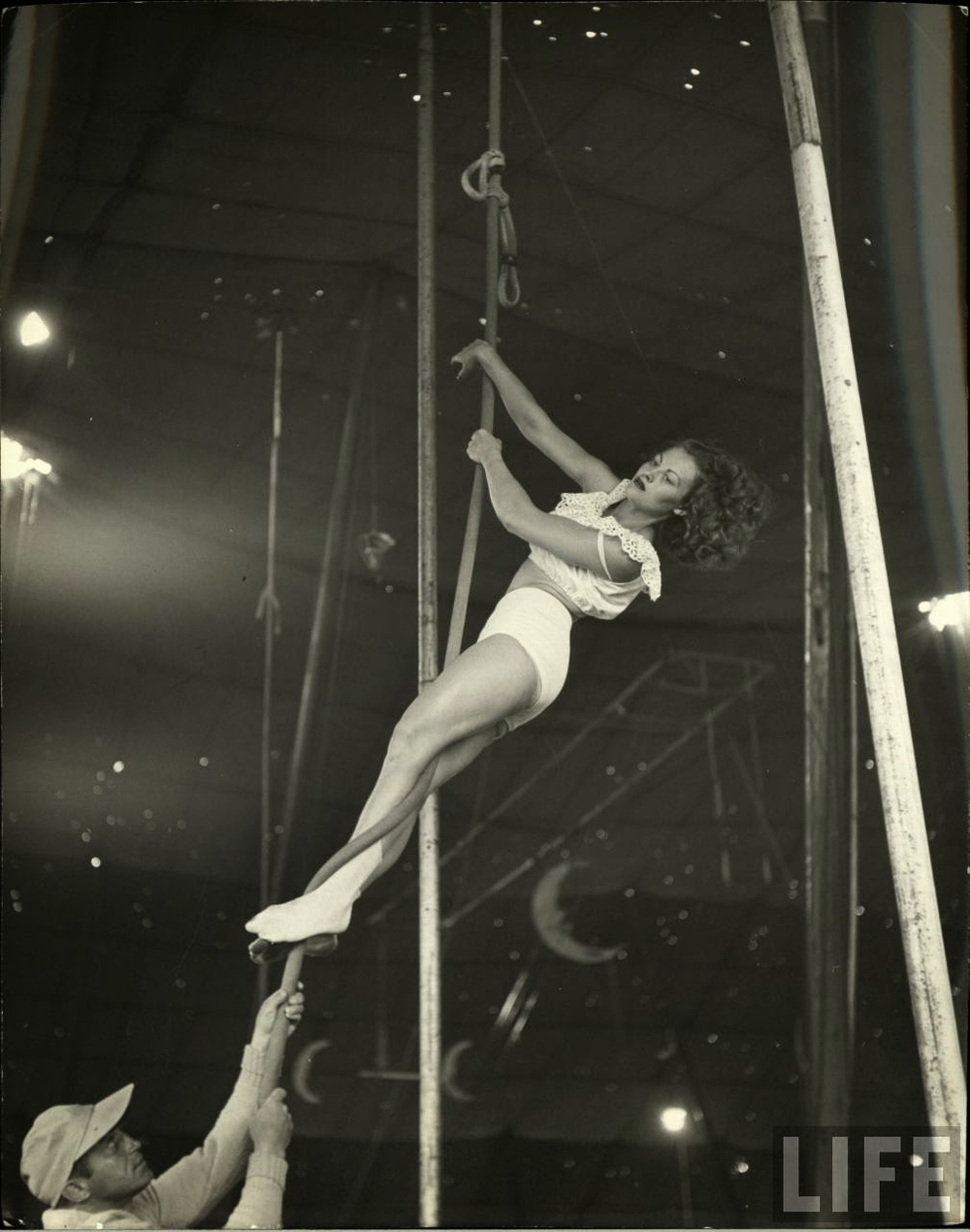 Daily Life of Circus Girls in Sarasota, Florida, ca. 1949 (1).jpg