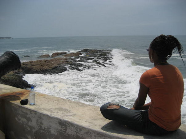 Devereau Chumrau in Ghana