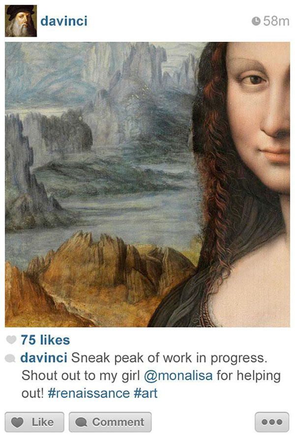 History Told Through Instragrams