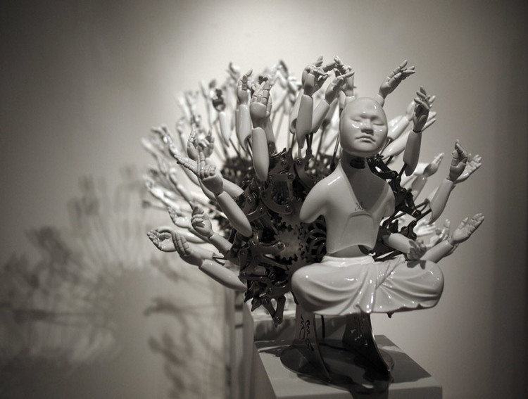 Mechanical Buddhas  by Zong Zi Won