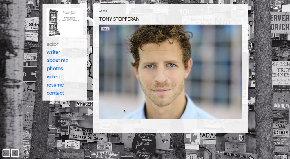 TonyStopperan.com