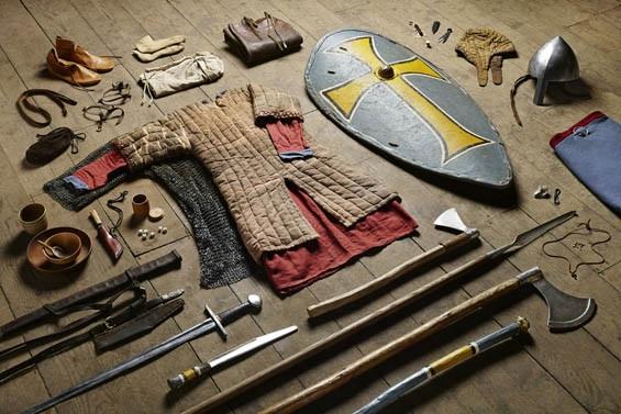 Huscarl, Battle of Hastings, 1066
