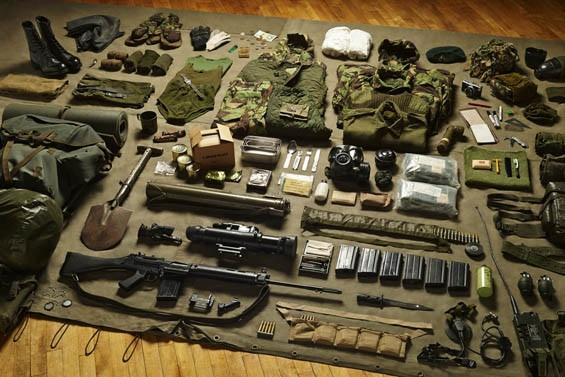 Royal Marine Commando, Falklands Conflict, 1982