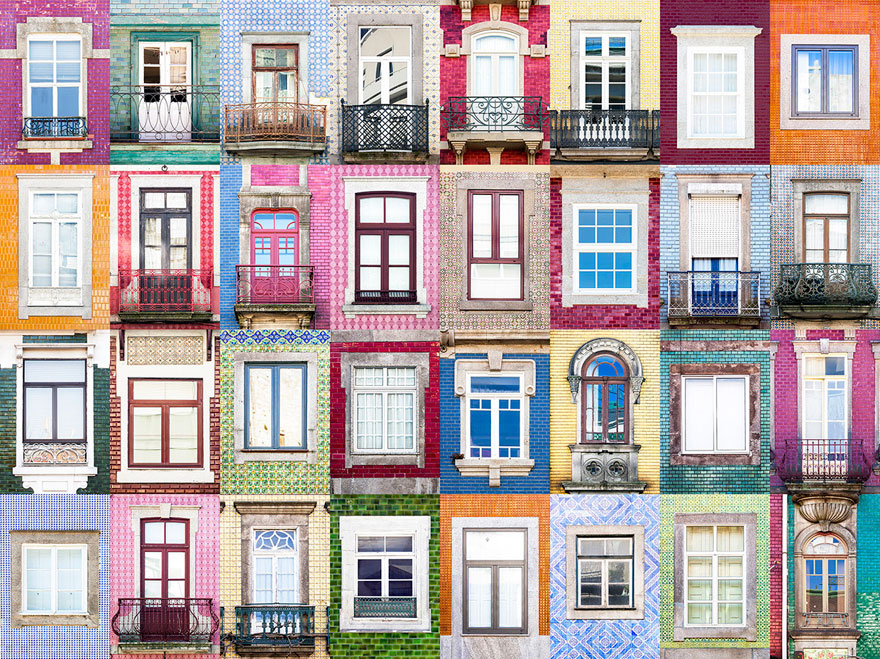 Windows of Porto
