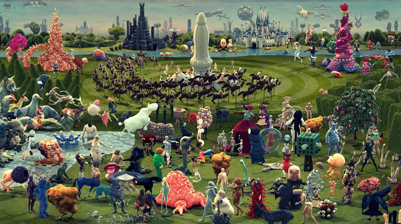 Paradise A Contemporary Interpretation Of The Garden Of Earthly Delights 5 Things I