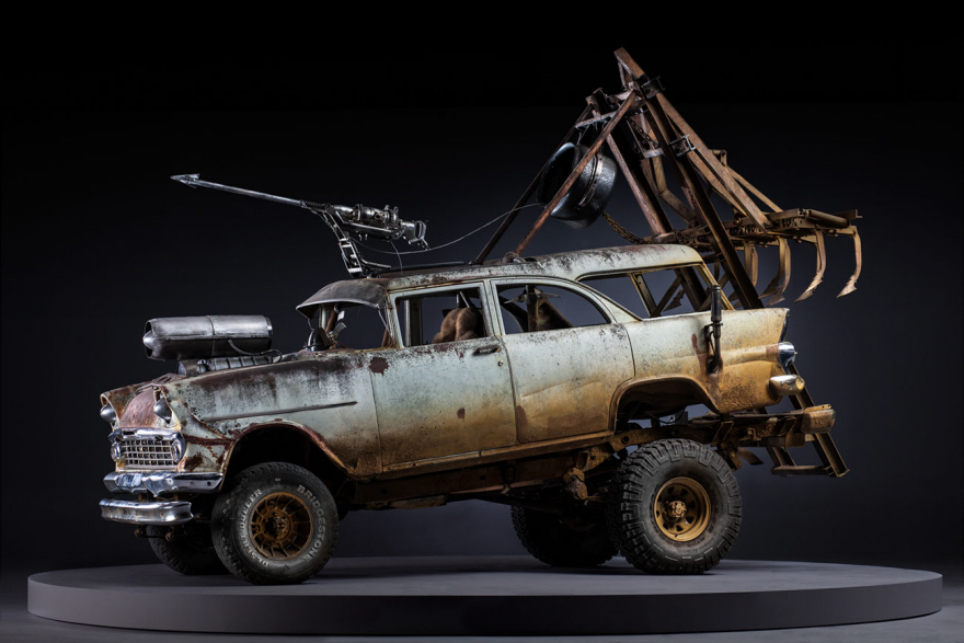 Mad Max: Fury Road - Production Designer Colin Gibson impressive vehicles