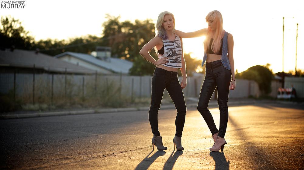 Models: Leah and Amie Lynn