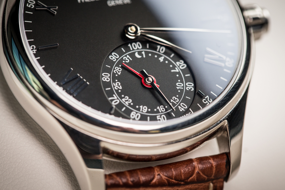 Macro shot of the Frederique Constant Smartwatch for PCWorld.com