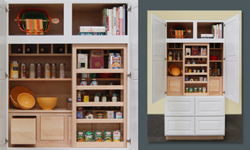 The possibilities are endless for this organization cabinet.