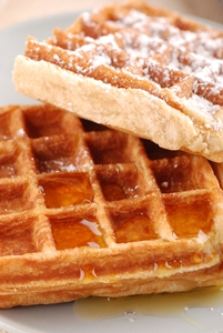 Store your waffle maker - and any other small kitchen appliances youdon'tuse every day - in one of these kitchen cabinet solutions.