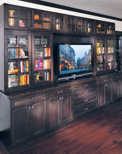 Custom Entertainment Center by Canyon Creek
