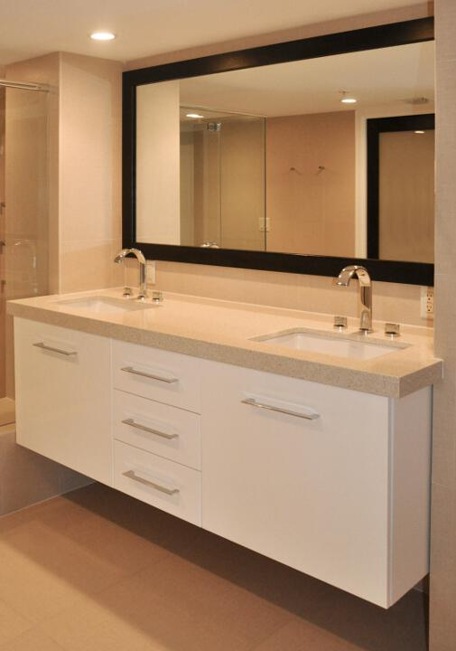 Custom Bathroom Vanities Oakville residential and commercial kitchen and bath cabinets | open door
