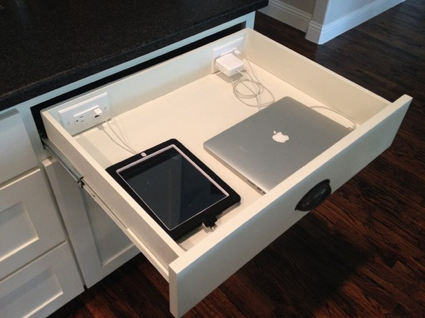 charging and docking stations are almost a must in new kitchens