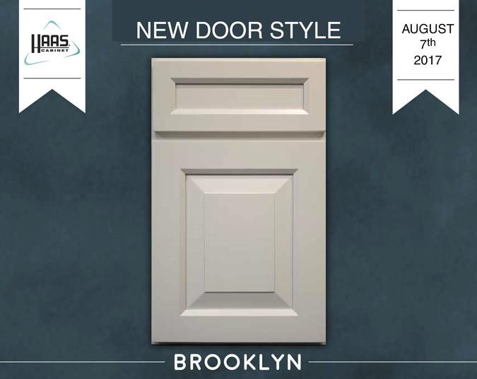 Introducing Haas Cabinet New Door Style   Brooklyn!