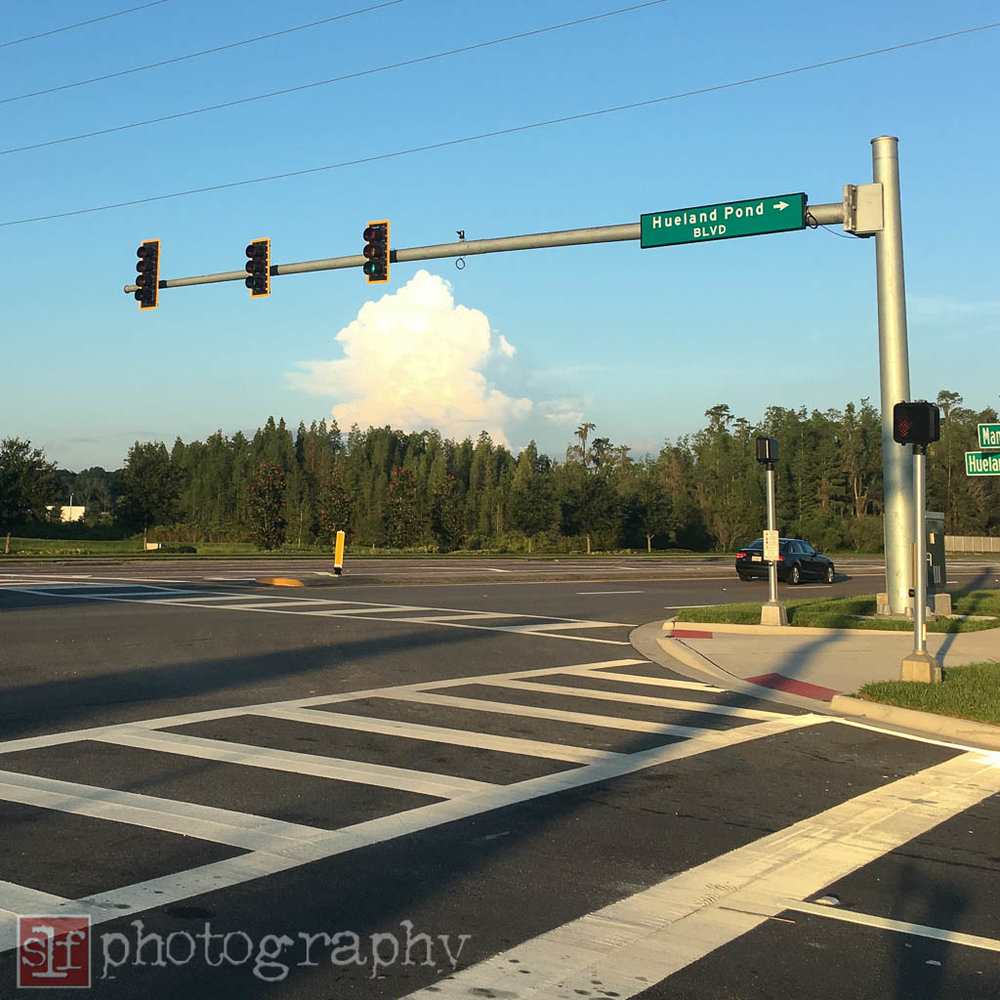thunderhead off the coast