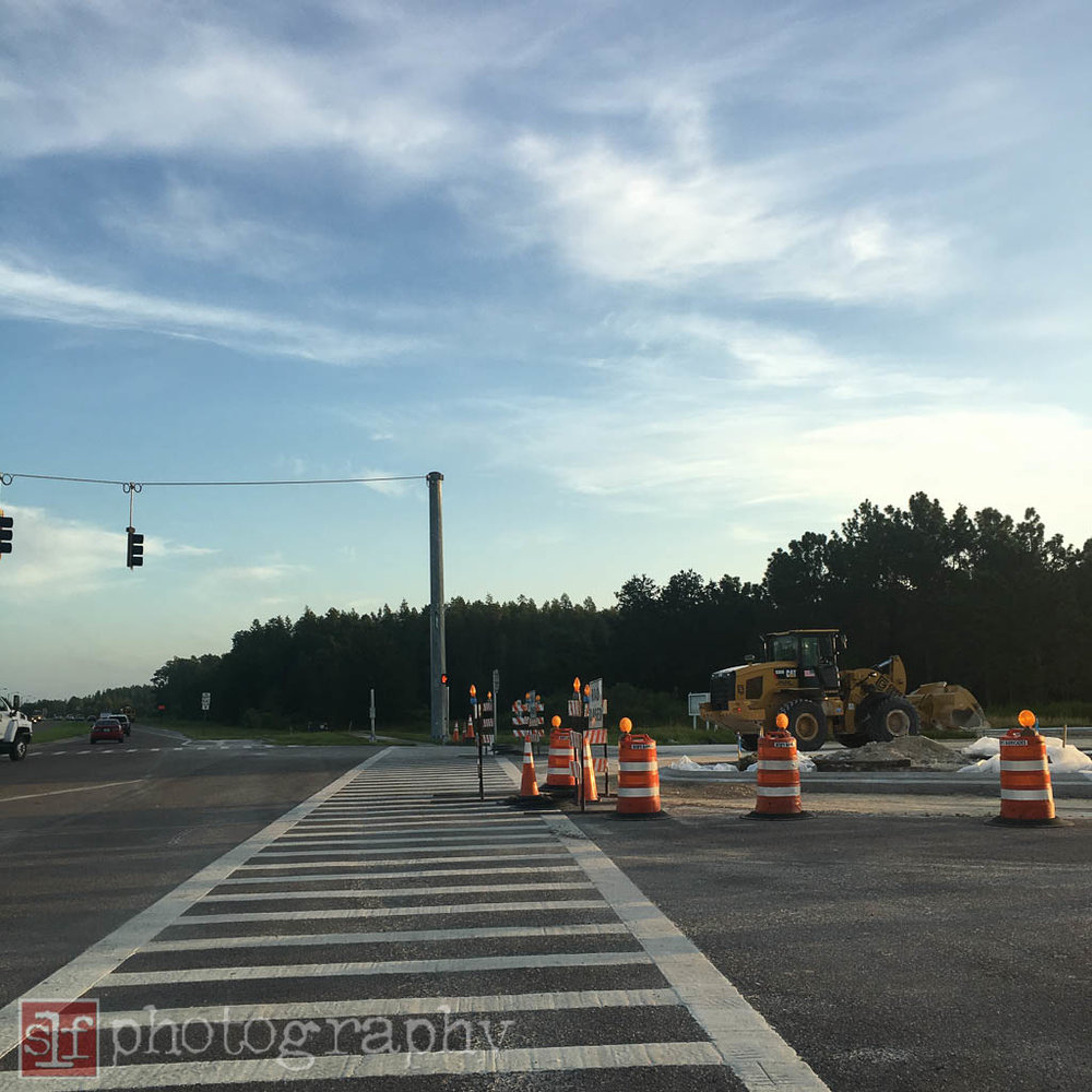 construction at sr56 and meadow pointe blvd