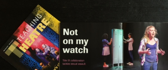 Read about Slut Shaming   featured in     Teaching Theatre   published by EdTA.