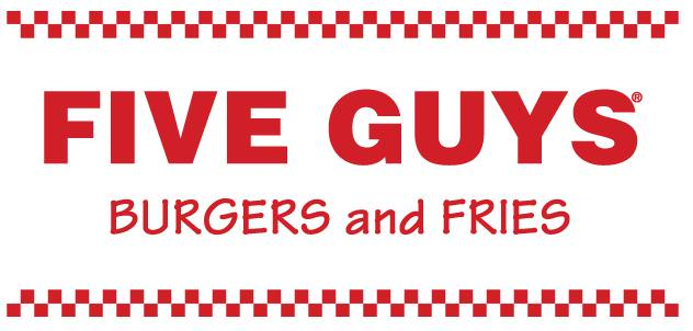 The Five Guys logo.