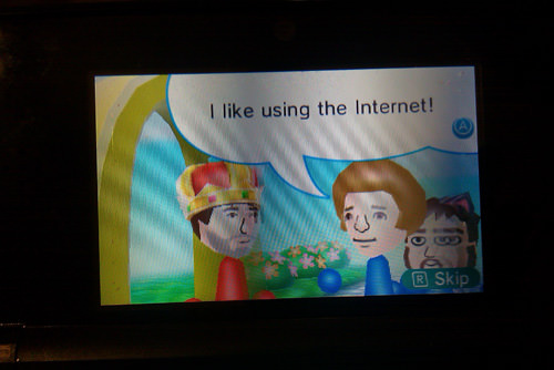 Meeting Patrick Klepek's Mii. You sure do, Patrick!