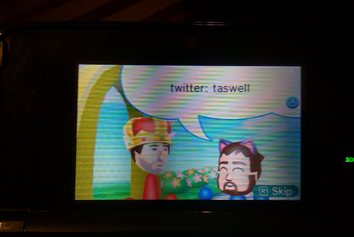 "Meeting Ryan Davis's Mii. ""Blocked!"""
