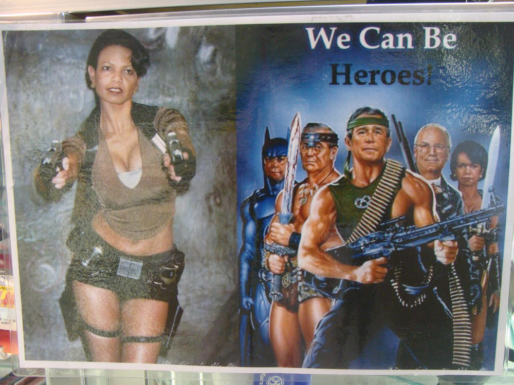 "After her successful guest appearance on ""30 Rock"", Condoleezza Rice went on to star in the Tomb Raider reboot."