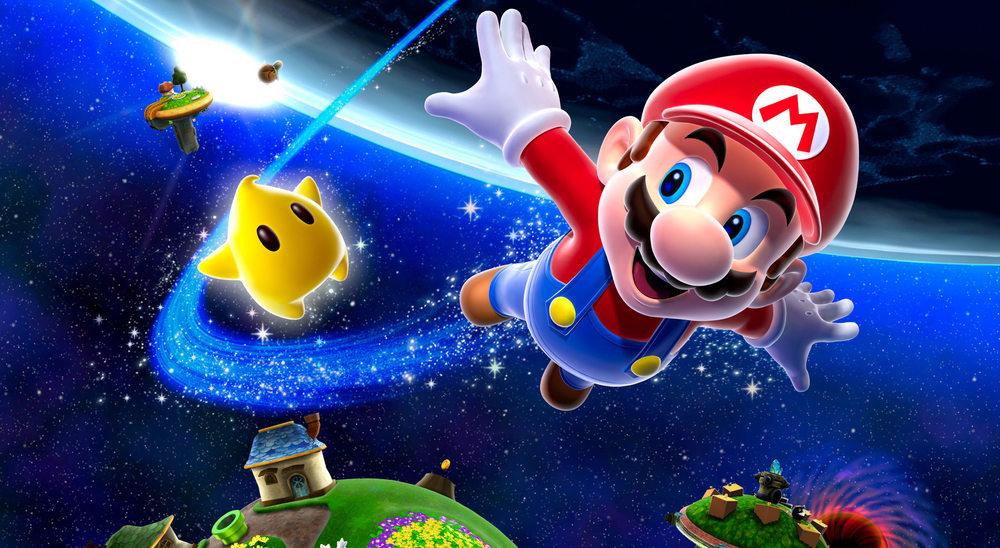 #1 - Super Mario Galaxy