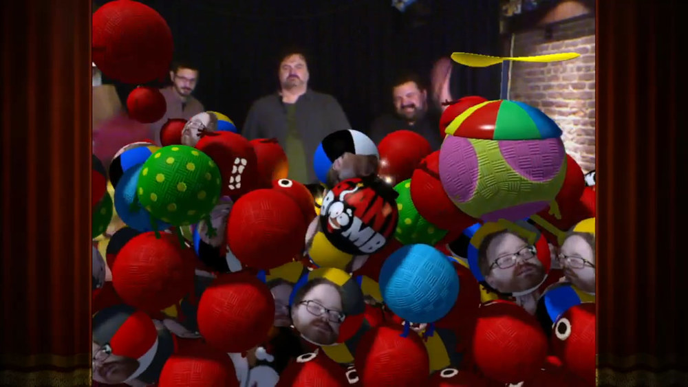 Giant Bomb's  Double Fine Happy Action Theater Quick Look