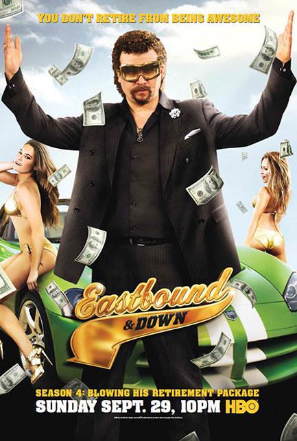 Eastbound & Down season 4 poster
