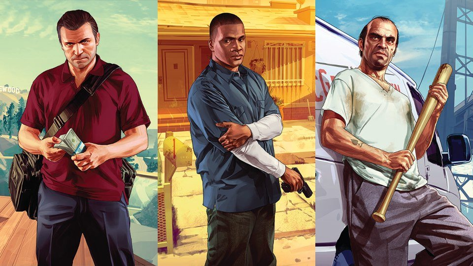 #2 - Grand Theft Auto V