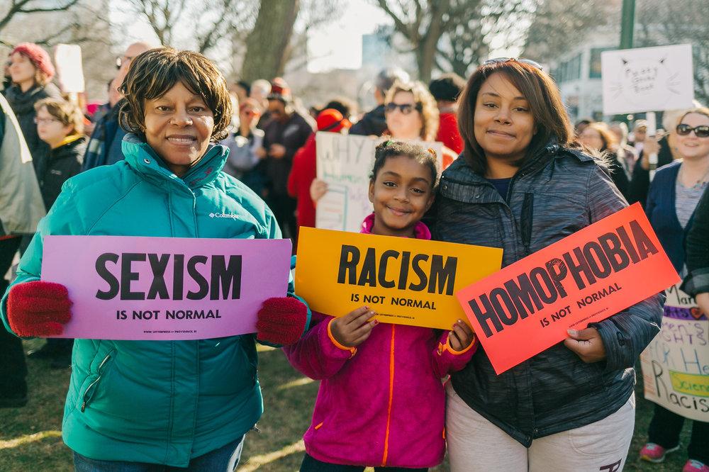 WOMEN'S MARCH 2017 -