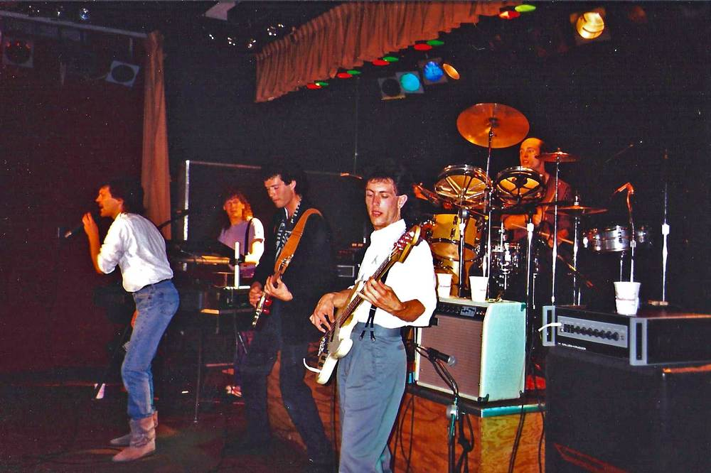 The Distrations, the first and only bar band I was ever in.